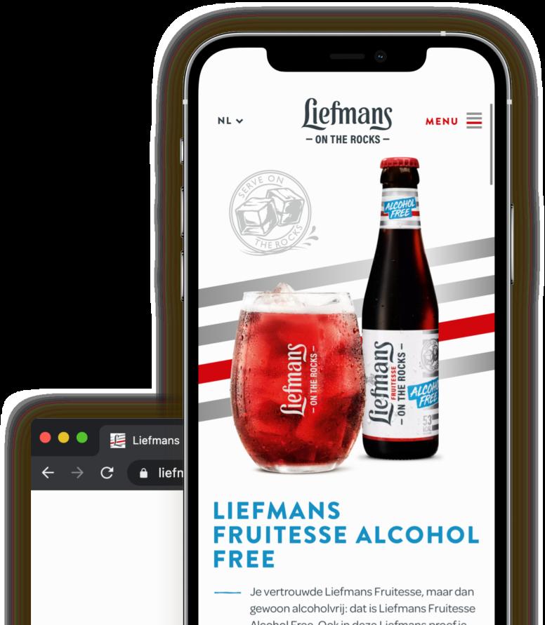 Liefmans fruitesse alcohol free