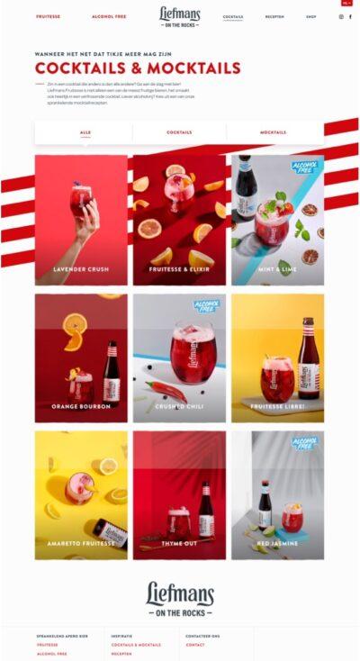 Liefmans cocktails